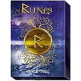 Runes Oracle von Cosimo Musio, 24 Inspirierend Karten in Box-Set mit Mehrsprachige Anweisungen
