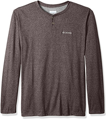 Columbia Men's Thistletown Park Big Henley, New Cinder Heather, 4X-Large Tall