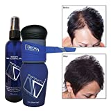 Infinity Hair Fibers Kit - Black 14g, Pump Applicator & Locking Spray