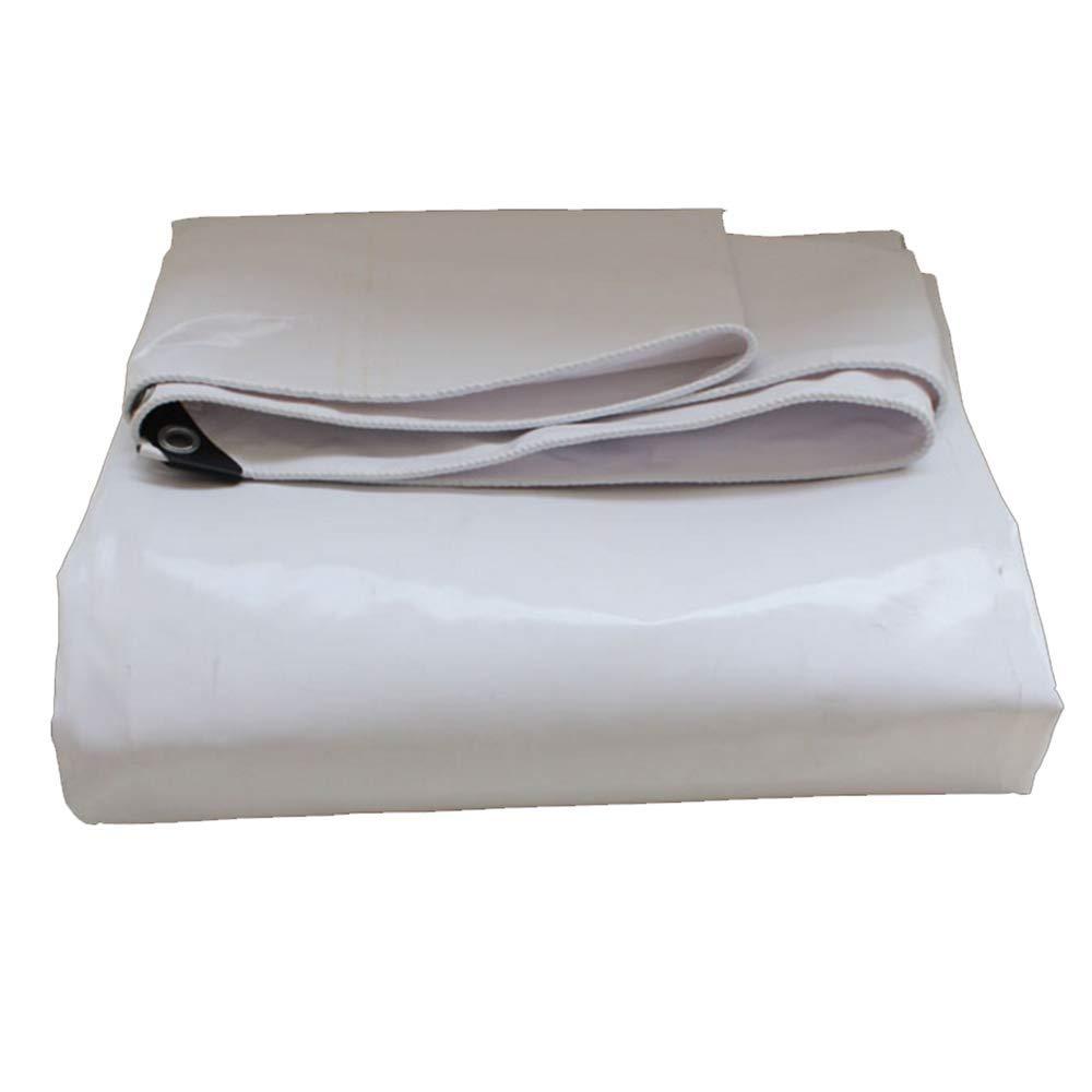 Tarpaulin NAN Wasserdichtes Tuch für den Außenbereich Dicke Wasserdichte Sonnencreme Oxford-Leinwand Sonnenschutz-Markisentuch 0,5 mm Dicke 600 g   m2 (größe   3X 3m)