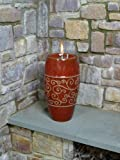 Alfresco Home Enya Fireburner, Bordeaux Red