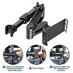 Viden Car Headrest Mount Holder-Car Seat Mount Tablet Holder, Universal Tablet Holder With 360 Degree Rotation for iPad…