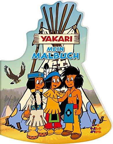 Yakari. Mein Malbuch