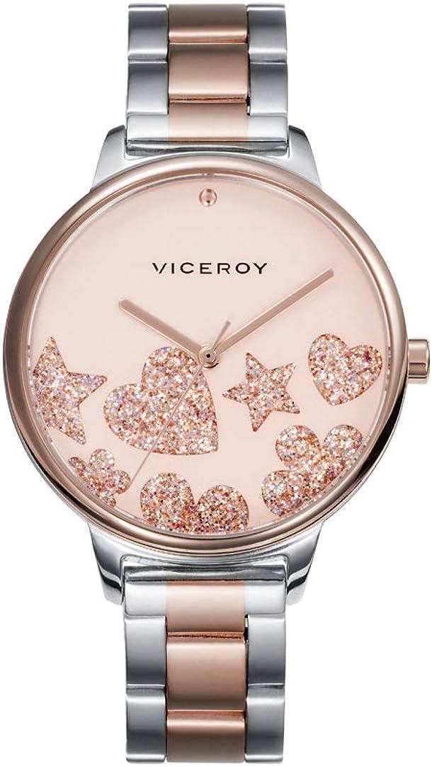 VICEROY - Reloj Acero IP Rosa Brazalete Sra Va - 461144-90