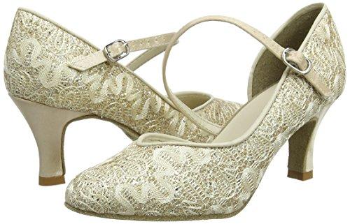 Salon Bl504 Danse 39 Femme Chaussures us De So 5 gold Danca Sparkle 7 Or Zwqx1