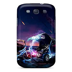 Hot Snap-on 3d Hd Hard Covers Cases/ Protective Cases For Galaxy S3