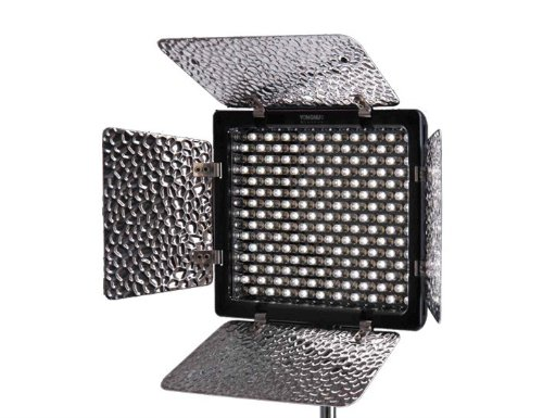 Yongnuo YN-300II 3200-5500K Dimmable LED Video Light for Camera or Camcorder, 2280 Lumens by Yongnuo