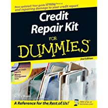Credit Repair Kit For Dummies (For Dummies (Lifestyles Paperback)) by Steve Bucci (19-Aug-2008) Paperback