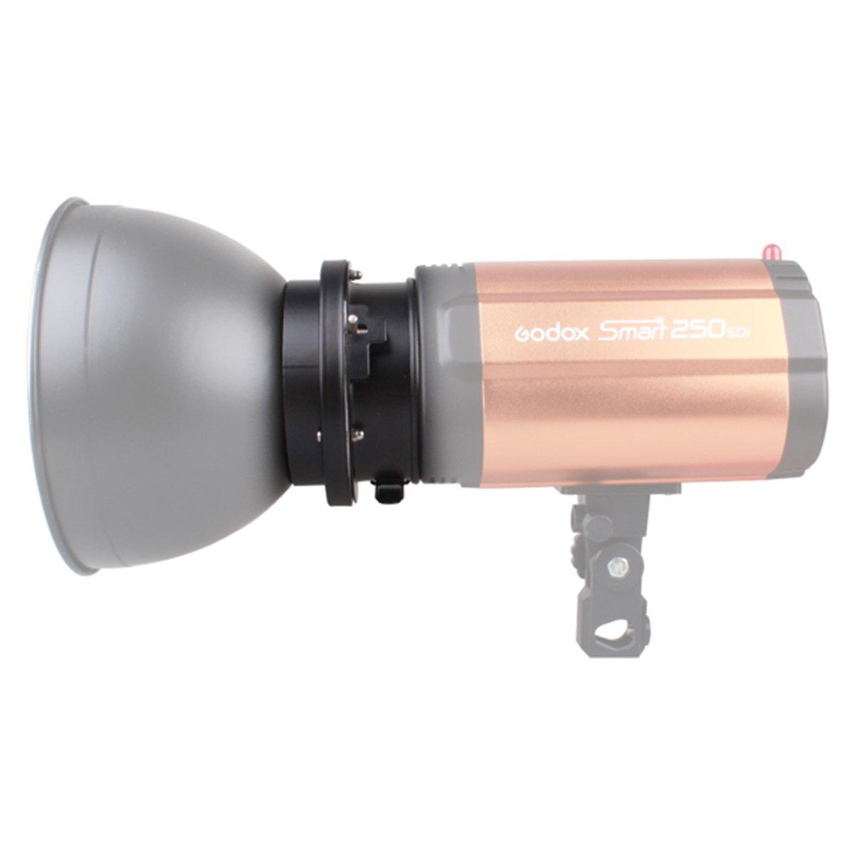 Godox 98mm Universal Mount To Bowens Mounts Speedring Adapter Studio Flash Strobe for Godox K150A K180A 250DI 300DI 250SDI by Godox (Image #3)