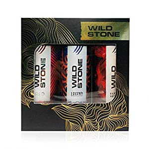 Wild Stone Ultra Sensual+ Red+Legend Combo Deodorant, 200 ml (Pack of 3)