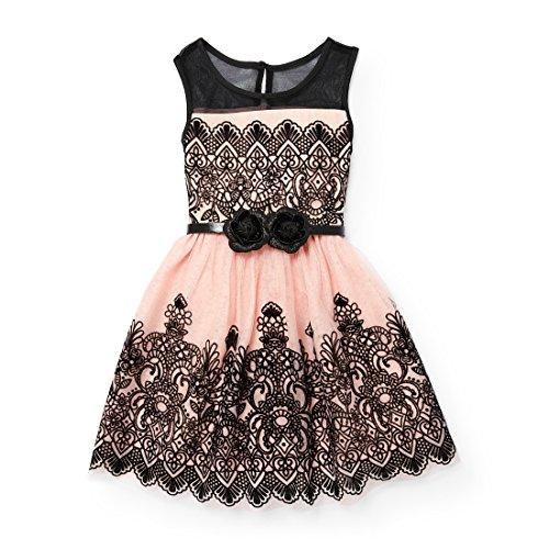 The Children's Place Big Girls' Sleeveless Dressy Dresses, Rose Dust 90563, 4