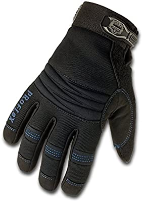 Ergodyne ProFlex 818WP Thermal Waterproof Utility Gloves, Black