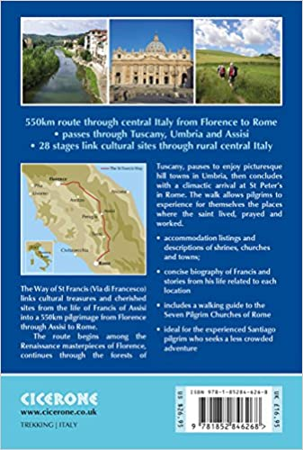 Trekking The Way of St Francis From Florence To Assisi And Rome Cicerone Guides