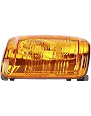 Rear View Mirror Turn Signal Light Cover for Ford Transit MK8 2014+ (Amber) (Left Side)
