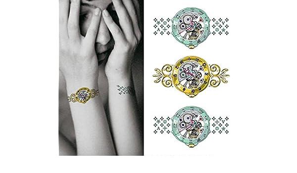 Cuerpo de klebbare temporales tatuaje Tattoo Pegatinas de pulsera ...