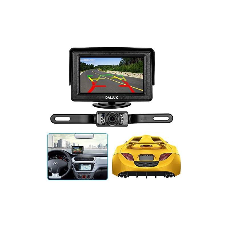 Backup Camera Monitor Kit for car, Unive