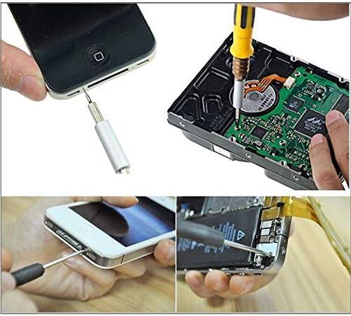 Mobile Phone Repair-Kits aisilin 32 in 1 Multi-bits Interchangeable Screwdriver Repair Tool Set for iPhone 6 /&6S iPhone 5 /&5S