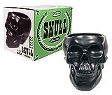 Streamline APL202 Skull Plant Pot, Black