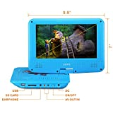 UEME Portable DVD CD Player with 9 Inches LCD