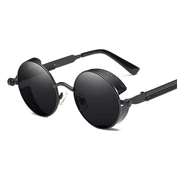 GAFAS SOL Gafas Redondas Reflectantes Gafas De Conducción ...