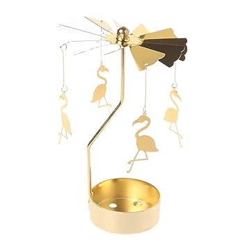 Xurgm Flamingo Metall Gold Kerzenhalter Für Kegel Kerzen Eisen Dünne Metall Moderne  Tisch Dekorative Herzstück Elegante