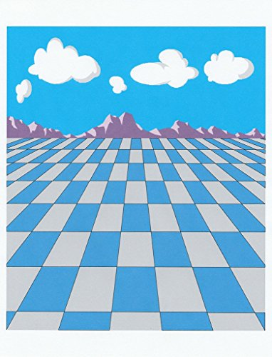 (NEW Mountain Checkerboard Letterhead Stationery Paper 26 Sheets)