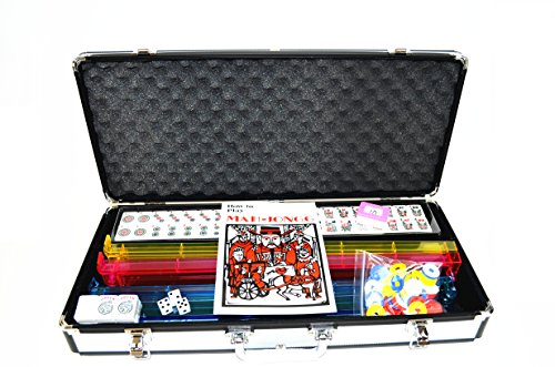 C&H Solutions Western Mahjong with Combo Racks in Silver Hard case American Mah-jongg By by C&H Solutions