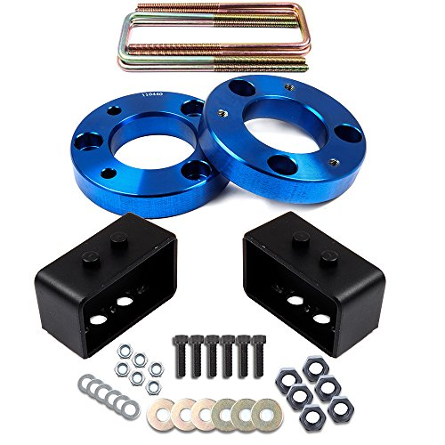 """OCPTY Leveling Lift Kit 3"""" Front + Rear Leveling Lift Kit PRO 4WD for Ford F150 2004-2017"""