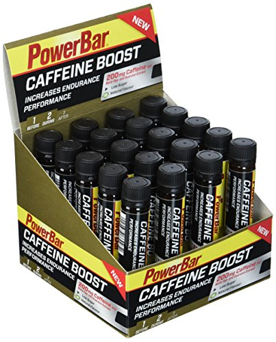 PowerBar Caffeine Boost Ampullen 20x25ml - Supplement mit 200mg Koffein