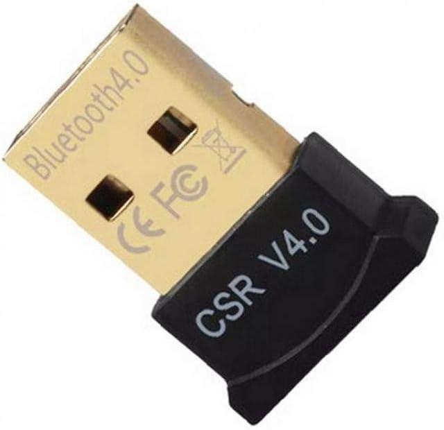 Bluetooth 4.0 USB De Baja Energía Micro Dongle Adaptador (Negro)
