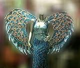 Da NeeNa Dance Latin Wing Burlesque Blue Angel Victoria Secret Wings & Dress