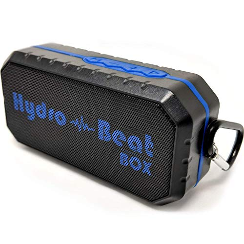 Portable Waterproof Bluetooth Shower Speaker - HB BeatBox - Wireless Shockproof Dustproof Weatherproof portable speaker, four connection types, Perfect For Sports, Outdoors, Indoors, Pool, Shower