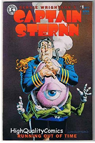 CAPTAIN STERN 1, VF/NM, Bernie Wrightson, Heavy Metal, 1993, more BW in - Femme Metal Store