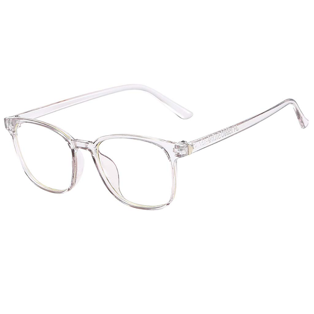 Unisex Glasses Round Computer Readers Eyeglasses Frames for Prescription Lens