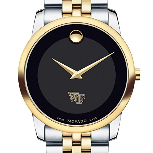Wake-Forest-Mens-Movado-Two-Tone-Museum-Classic-Bracelet