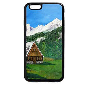 iPhone 6S Plus Case, iPhone 6 Plus Case, Cottage between the Mountains