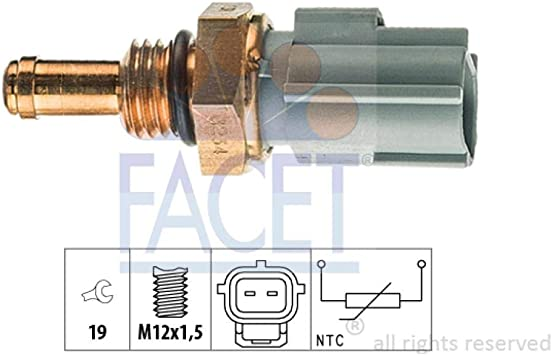 FORD OEM-Radiator Coolant Temperature Sensor F8CZ12A648B