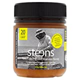 Steens Manuka Honey UMF 20 (MGO 829) 8.8 Ounce jar | Pure Raw Unpasteurized Honey From New Zealand NZ | Traceability Code on Each Label