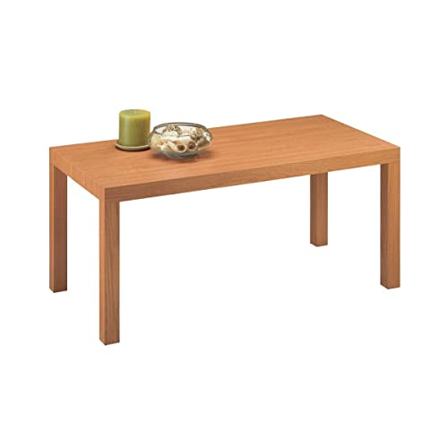 Natural Wood Coffee Tables: Amazon.com