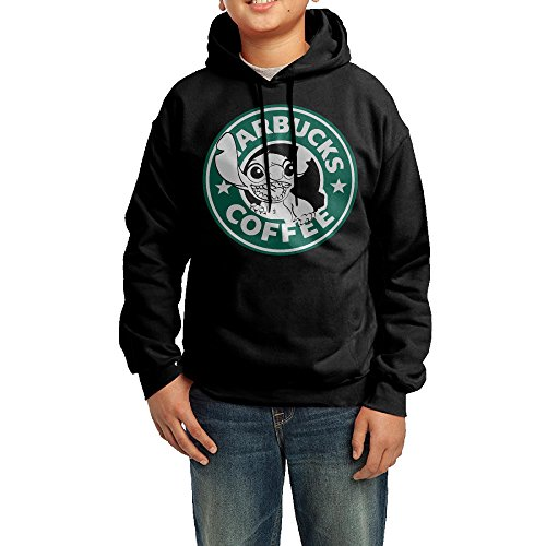 Youth Teenagers Lilo And Stitch Starbucks Coffee Logo Hoodie Sweatshirt