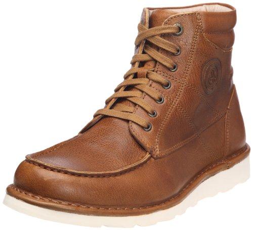 Aigle Fabier Natural P3801 - Zapatos de cuero para hombre Marrón (Braun/natural)
