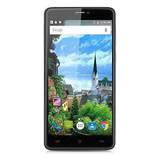Cubot Max 6.0 4G Smartphone Android 6.0 Octa-Core Handy Dual SIM 3GB RAM + 32 GB ROM 13.0MP Kamera OTG Hotknot Wifi Bluetooth Silber