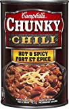 Campbell's Chunky Chili Hot And Spicy, 425gm, 12-Count