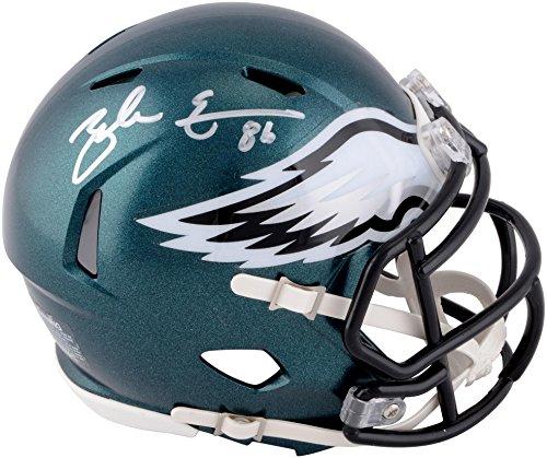 Zach Ertz Philadelphia Eagles Autographed Riddell Speed Mini Helmet - Fanatics Authentic Certified - Autographed NFL Mini ()