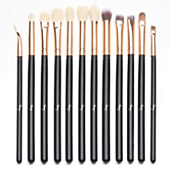 Qivange Eye Makeup Brushes Set, Syntheti...