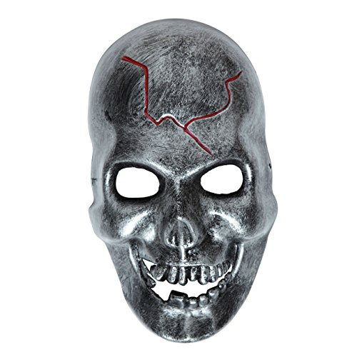 Adult's Iron Look Skull Mask