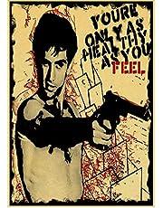 Poster Film Taxi Driver Poster Klassieke Film Serie Posters En Prints Movie Stills Canvas Schilderij Art Wall Pictures Home Decor 50 * 70 Cm Geen Frame
