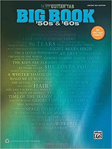 The New Guitar Big Book Of Hits 50s 60s 64 Early Rock