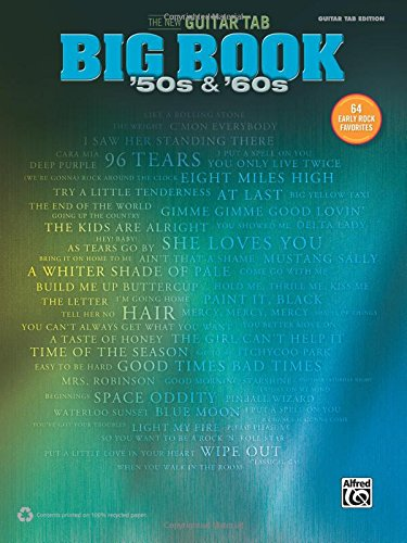 Download The New Guitar Big Book of Hits -- '50s & '60s: 64 Early Rock Favorites (Guitar TAB) (The New Guitar TAB Big Book) pdf epub