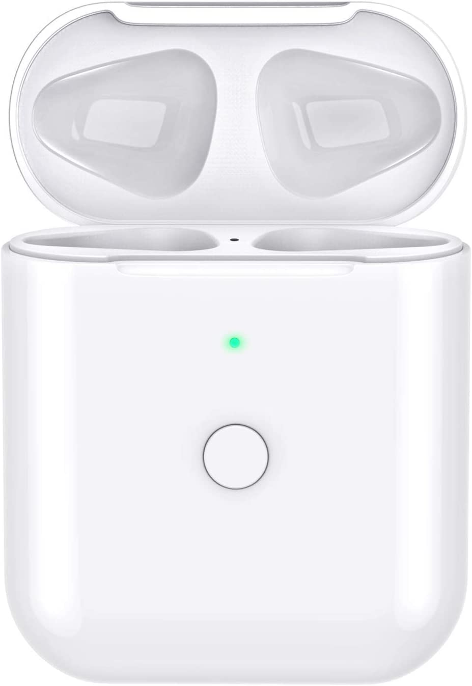 Wireless Airpods Charging Case Replacement Compatiple with for Airpods 2 1, Airpods Charger Case with Bluetooth Pairing Sync Button